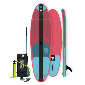Brunotti Discovery 10'6'' iSUP Package - Pink - Allround Advanced