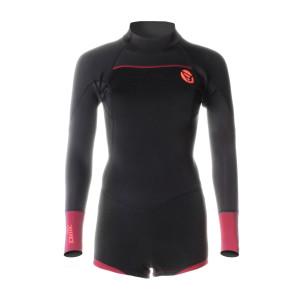 Brunotti Defence Longarm Shorty 3/2 D/L Women's Wetsuit  / Red
