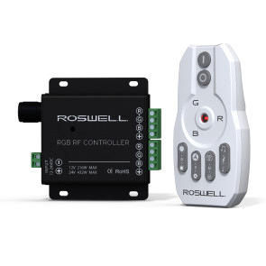 Roswell Marine Audio RGB Remote & Controller Package