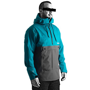 2021 Follow Layer 3.1 Outer Spray Anorak - Teal