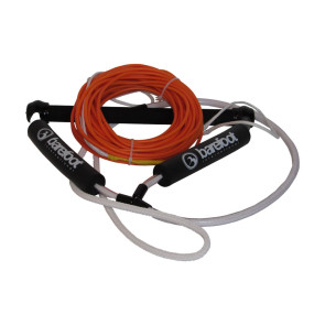 """Barefoot Int'l Nylon Coated Wakeboard Rope 70' long and Spectra Core w/15"""" Wake Handle Package"""