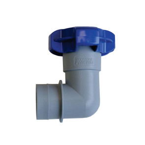"Fatsac 1-1/2"" Flow-Rite QC Elbow Fitting"